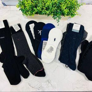 NWT BUNDLE MENS DRESS SOCKS (CK, TH,) 14 pairs